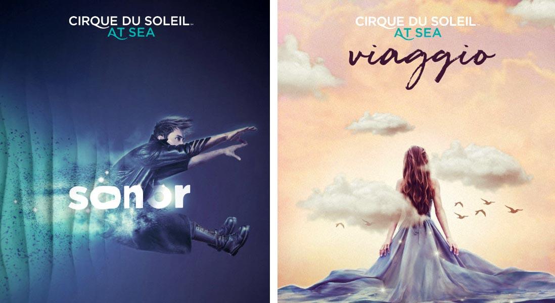 Sonor e Viaggio gli esclusivi spettacoli del Cirque du Soleil per MSC Crociere