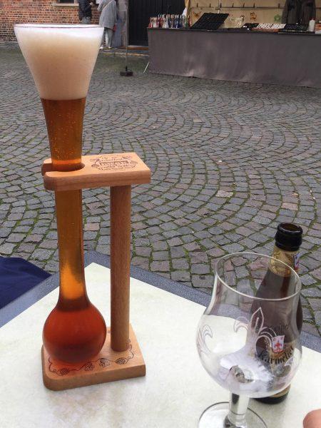 Bruges, un particolare calice per la Birra