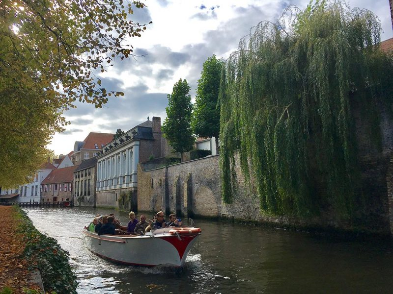 Bruges, un canale