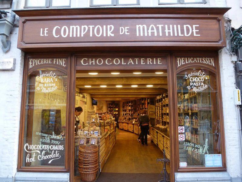 Cioccolateria a Bruges