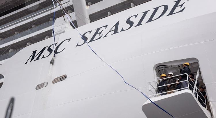 Inaugurazione MSC Seaside