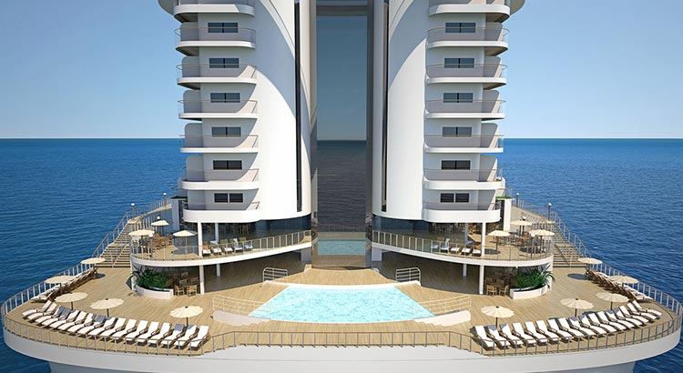 MSC Seaside South Beach Pool