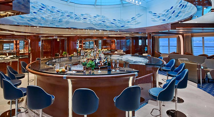 Seabourn Ovation Bar
