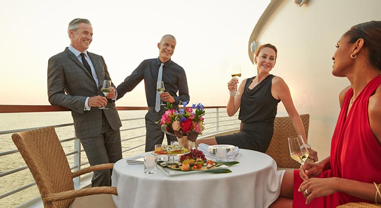 Seabourn Ovation Vita a Bordo