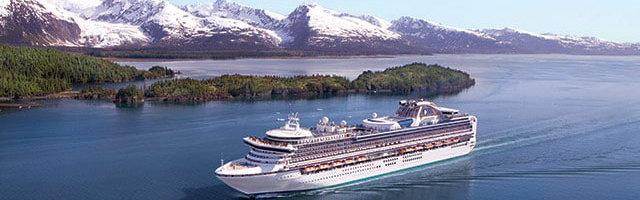 Princess Cruises Alaska Crociere in Alaska