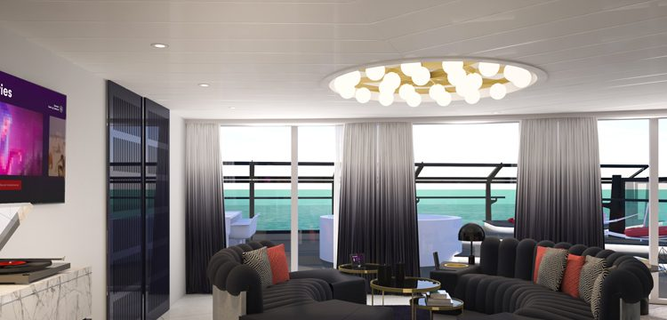Virgin Voyages Massive suite
