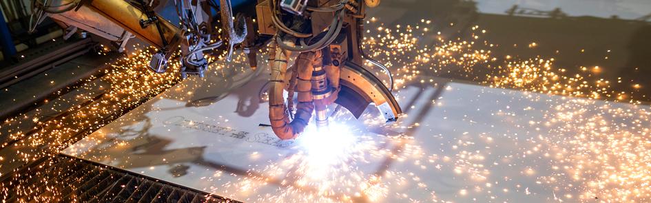 Odyssey of the Seas taglio della lamiera steel cut