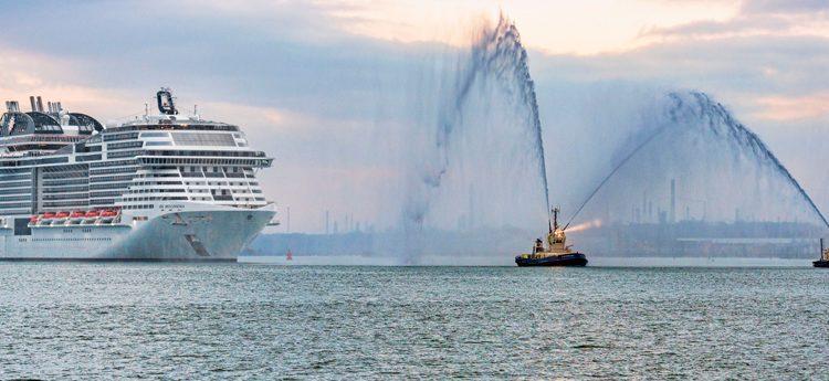 Msc Bellissima porto Southampton Msc Crociere