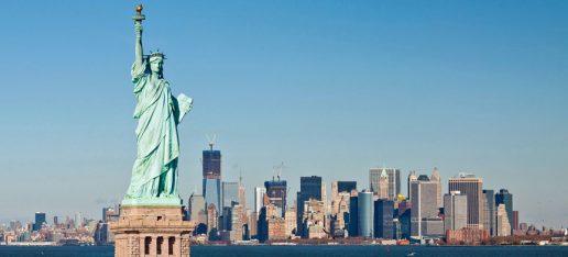 Statua della Libertà New York Stati Uniti.