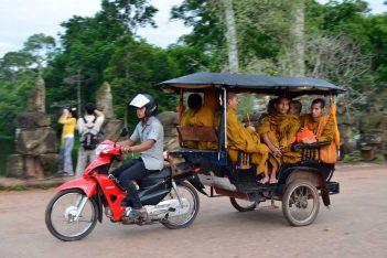 tuk tuk Cambogia
