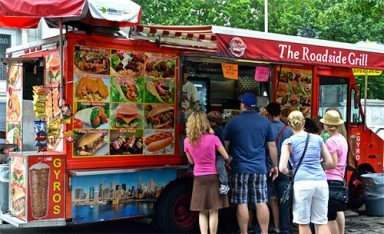 street food New York