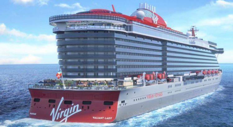 Virgin Voyages rendering Valiant Lady