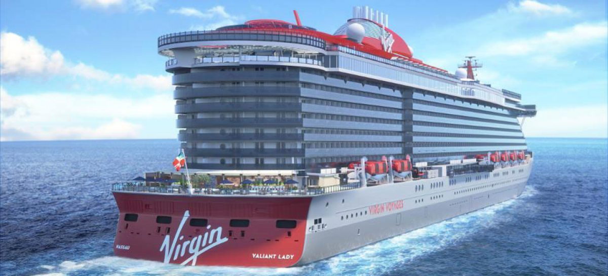 Virgin Voyages rendering Valiant Lady