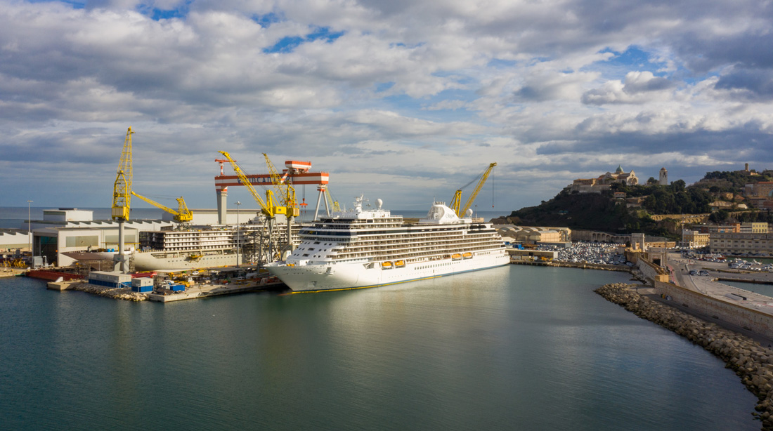 Seven Seas Splendor Fincantieri Ancona Regent Seven Seas Cruises
