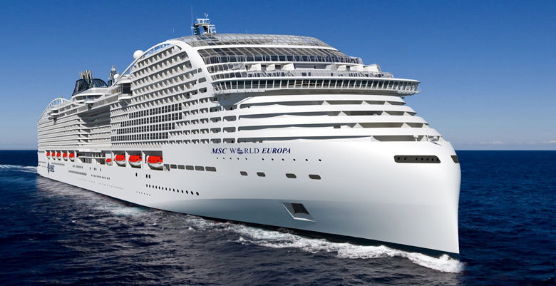 Msc World Europa rendering