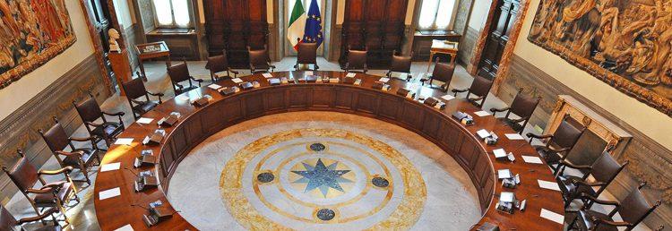 governo consiglio dei ministri