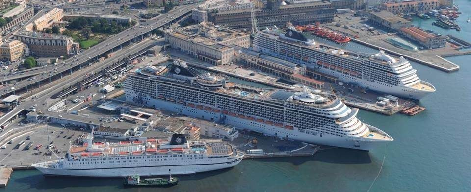 Msc Crociere riparte porto Genova