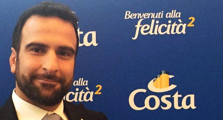 Daniel Caprile direttore commerciale Costa Crociere