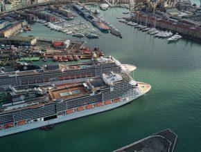 Msc Grandiosa Genova Msc Crociere