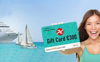 Gift Card buono vacanza crociere noleggio barche regalo