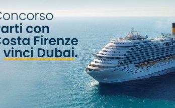 Costa Firenze concorso Dubai